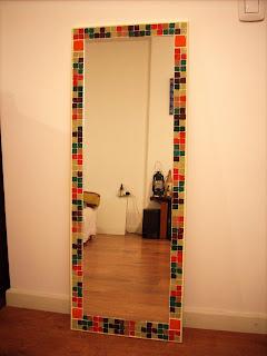 Espejos y lamparas espejo rectangular for Espejo rectangular con marco