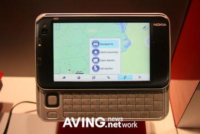 NOKIA N810 Internet Table