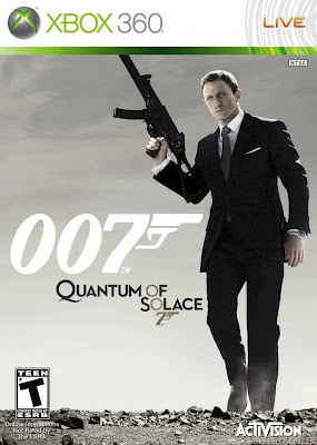 Game James Bond 007 Quantum of Solage Xbox 360