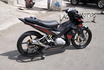 MotoMalaya  Modified Yamaha 135LC from Indonesia by Andrey Philipus