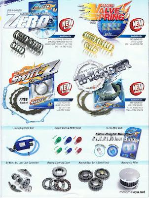 Honda Auto Racing Part on Motomalaya  Faito Racing Parts Advertisement Ii