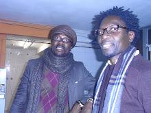 Ibrahim Seck y Sidy Samb