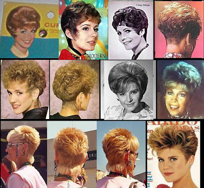 hahatop this 80's hairstyle and bored with yr old-fashioned hairstyle??? try