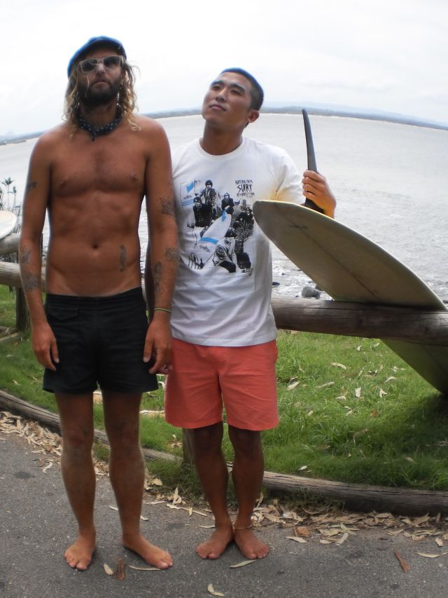 the japanese surfing resurrection? insects in noosa sponnoed by noosa longboards
