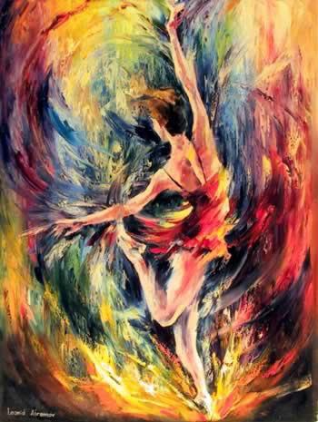 Dança das Cores, de Afremov