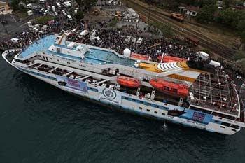 Barco turco Mavi Marmara