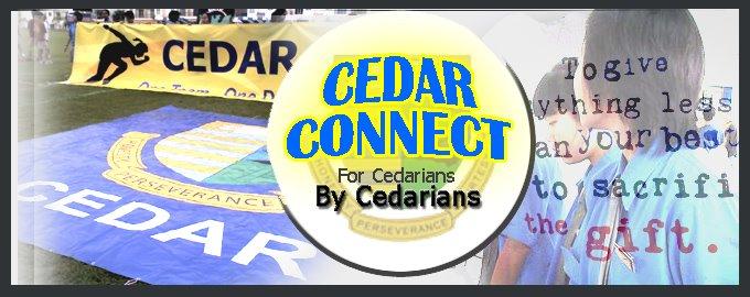 By Cedarians, For Cedarians.