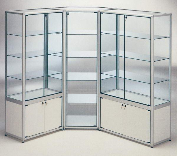 Belleza en aluminio nuevas vitrinas - Vitrinas para casa ...