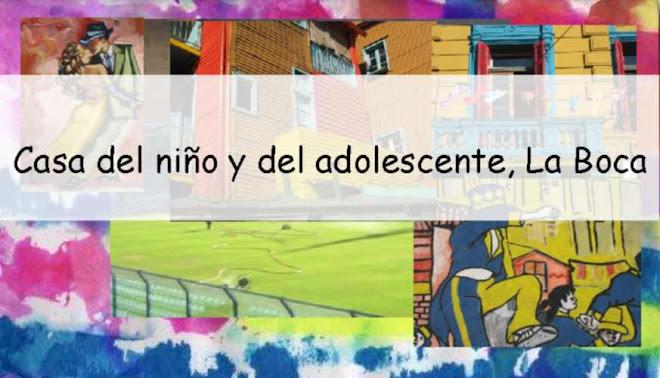 Casa del niño y del adolescente, La Boca