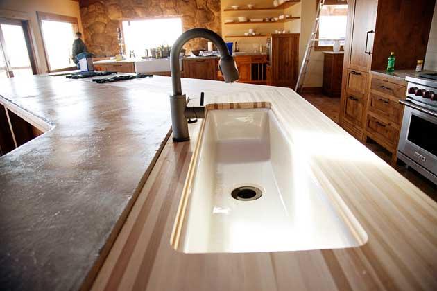 Long Narrow Kitchen Sink