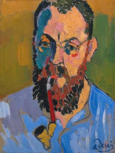 [André+Derain_Portrait+of+Henri+Matisse_1905]
