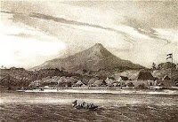 Klabat view from manado bay