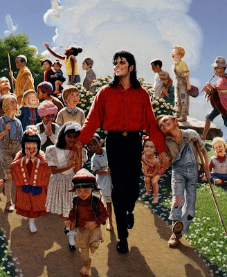 DIA DE LA TIERRA HOMENAJE PARA MIKE - Página 4 David-Norhdal_Field+of+Dreams_Painting-for-Michael-Jackson-2