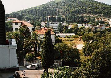 Utsikt fra Hotel Sumratin