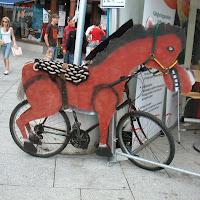 Syklende hest