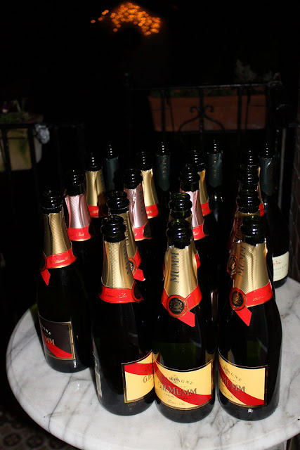 champagne for new years eve supper club,