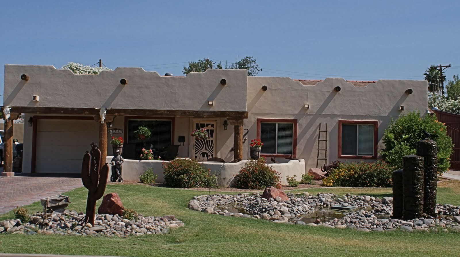 Awesome pueblo style home pictures house plans 16296 for Pueblo style home plans