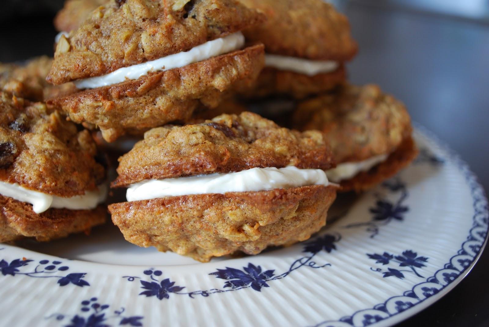 my madeleine: Carrot Cake Sandwich Cookies