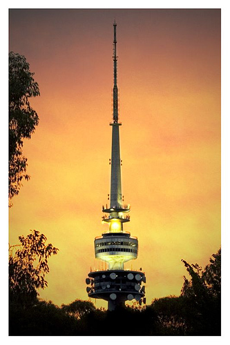 wizzy world travel agency telstra tower. Black Bedroom Furniture Sets. Home Design Ideas