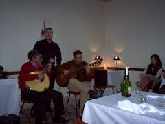 Fados no Rossio ao do Sul do Tejo, ontem no Jantar dos Lyon`s de Abrantes