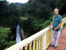 Terry at Cascada Texolo
