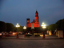 Plaza at night