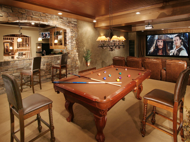 Rustic Man Cave Of : A designer contractor dudes n man caves