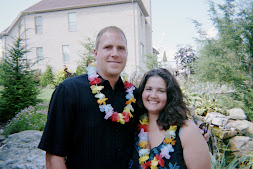 August 2007. My Hubs Jason and I.
