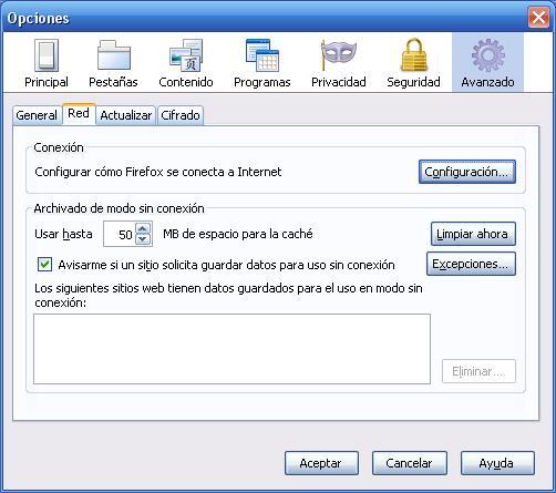 Paginas bloqueadas en el Trabajo? La Solución (En Firefox)
