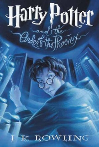 harry potter books series. Harry Potter and the Order of
