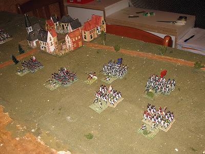 French left flank