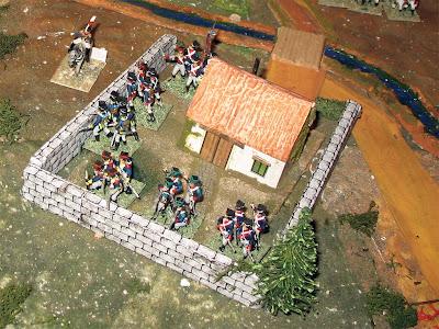 Polish infantry at the Dolitz Manor