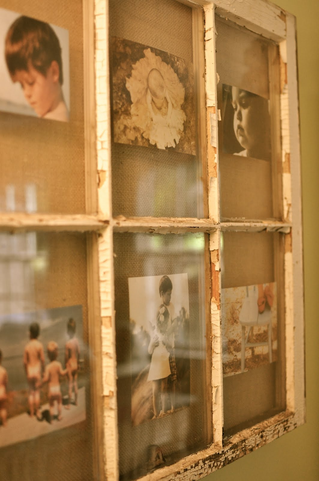 House designs school more vintage window projects for Using old windows as picture frames