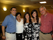 my darling family at Rach's wedding rehearsal