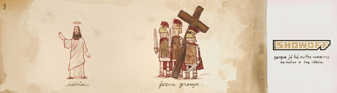 idea jesús grupo focal romanos