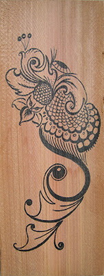 The Sail Tail drawing by Lani Mathis of GreenSpaceGoods