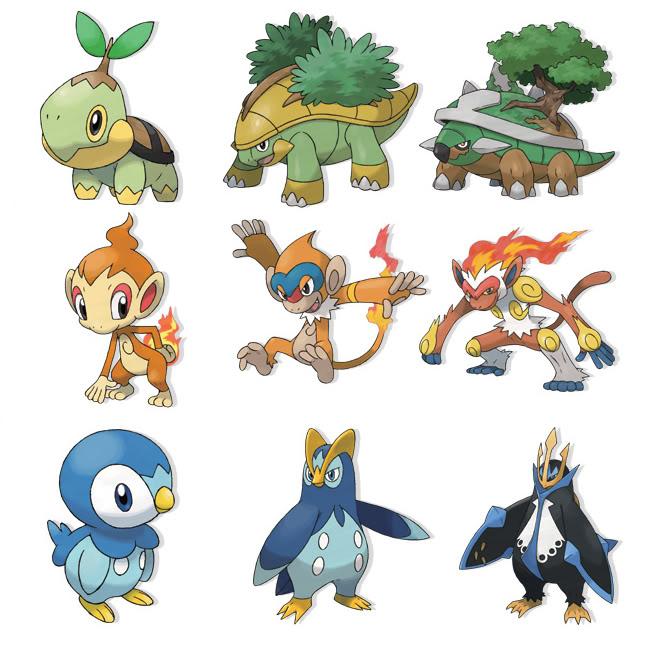 Best sinnoh starter - Pokemon platine evolution ...