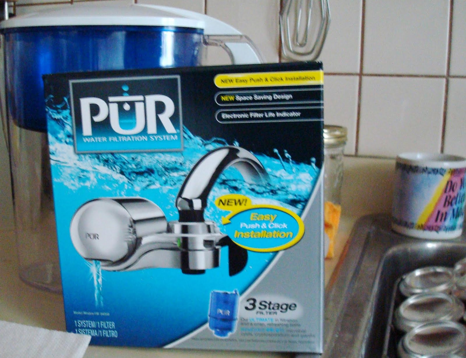 XmasDolly: WORDFUL WEDNESDAY - PUR WATER FAUCET FILTER!