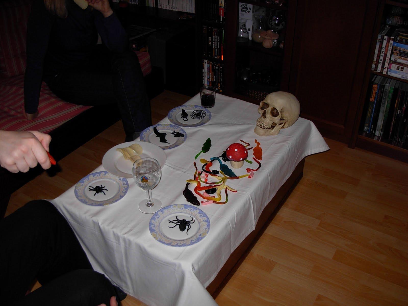 aventure onirique repas d 39 halloween avant l 39 heure. Black Bedroom Furniture Sets. Home Design Ideas