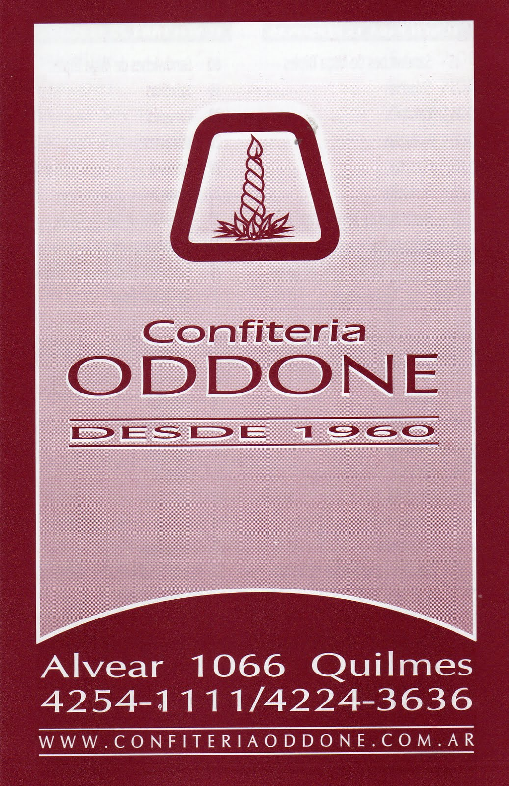CONFITERIA ODDONE