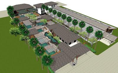 C natthaphon 39 s portfolio koi farm fish pond house for Koi pond design layout