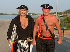 Pirate Woody and Pirate Pete