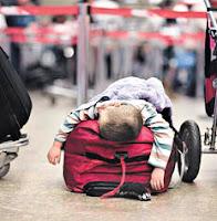 A semana que passou nos aeroportos brasileiros - crise aéra que não é passageira. FOTO DE A GAZETA DO ES