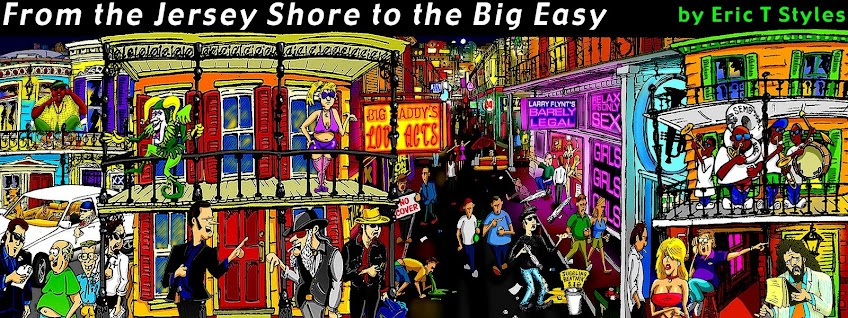 from the jersey shore to the big easy