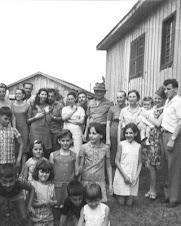 Os Bortolini  Filhos, noras, genros, netos
