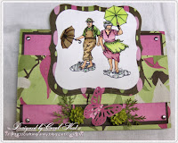 Carol West created this very fun card using Play Time puddles