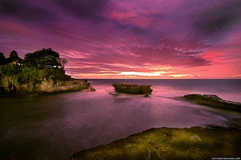 Very Beautiful Scenery In Indonesia Bali Island