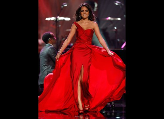 Top 10 in Evening Gowns: Miss Universe 2008 - Miss Universe - Zimbio