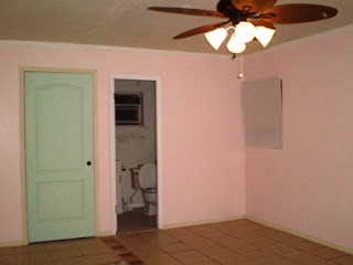 ほとんど完成してきた客室