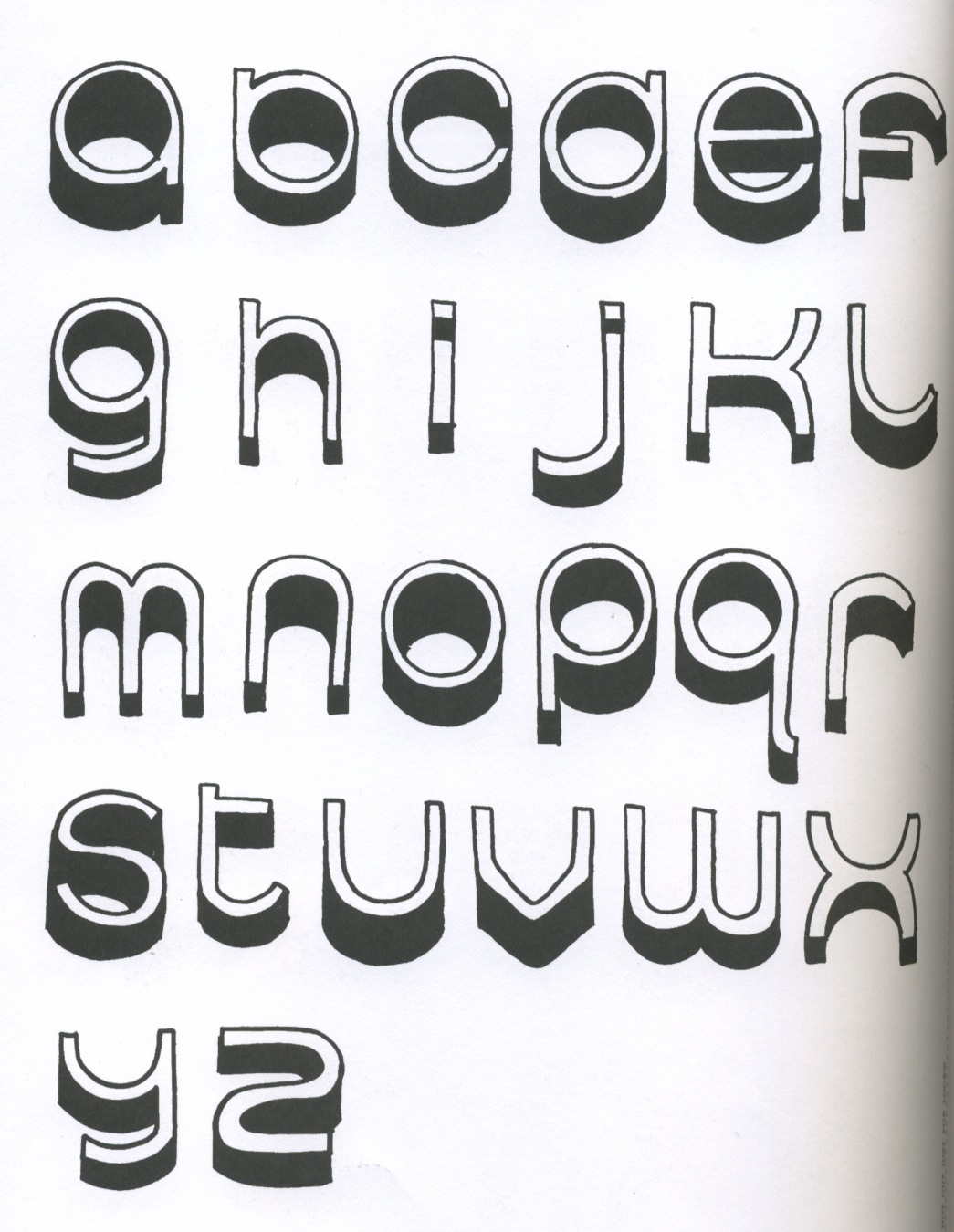 this typeface created by damien correll called hugs for you really attracted me not just for its message but its style of type creating it to look like